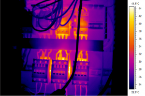 Termografia fotovoltaico componenti elettrici surriscaldati