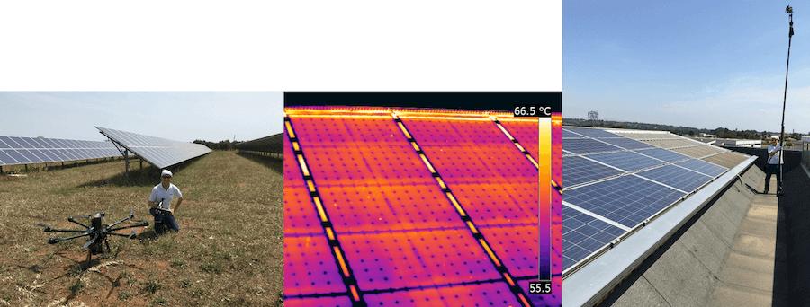 Termografia fotovoltaico ispezione con drone Luca Del Nero