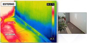 termografia umidità di risalita