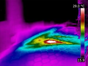Termografia impianti riscaldamento - Perdita di acqua impianto