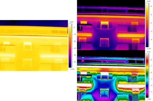 Termografia cappotti termici - Importanza preparazione tecnico