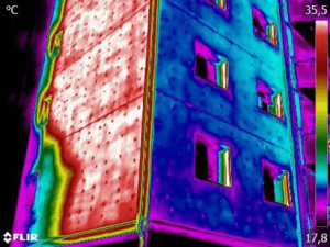 Termografia cappotti termici