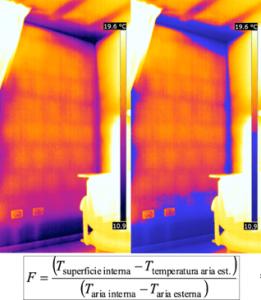 Termografia cappotti termici carenza di isolamento
