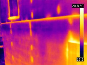 Termografia distacco di intonaco condensa interstiziale