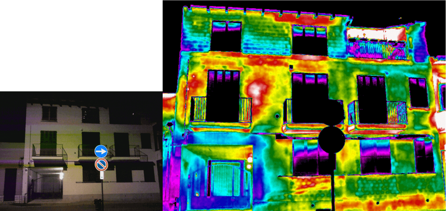 Termografia ponti termici e dispersioni energetiche - Dispersioni dall'esterno