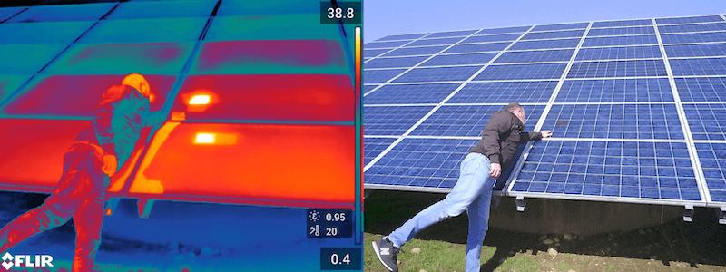 Termografia fotovoltaico