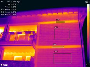 Termografia ponti termici e dispersioni energetiche - Dispersione di calore dal solaio
