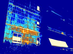 Termografia distacco di intonaco