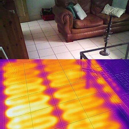 Termografia perdite di acqua - Impianto di riscaldamento