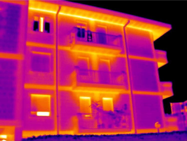 Termografia ponti termici e dispersioni energetiche