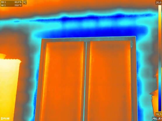 Termografia serramenti - L'importanza della preparazione del tecnico