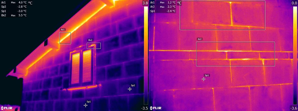 Termografia ponti termici e dispersioni energetiche - Valutazione qualità isolamento