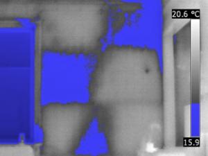 Termografia cappotti termici - pannelli isolanti non applicati