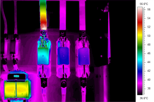 Termografia impianti elettrici - Fusibili
