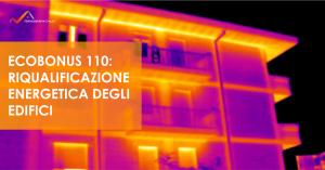 Termografia in edilizia per la riqualificazione energetica - Ecobonus 110