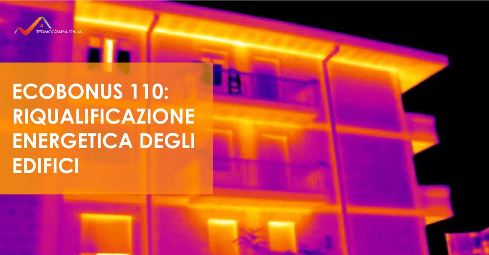 Termografia in edilizia per la riqualificazione energetica: Ecobonus 110