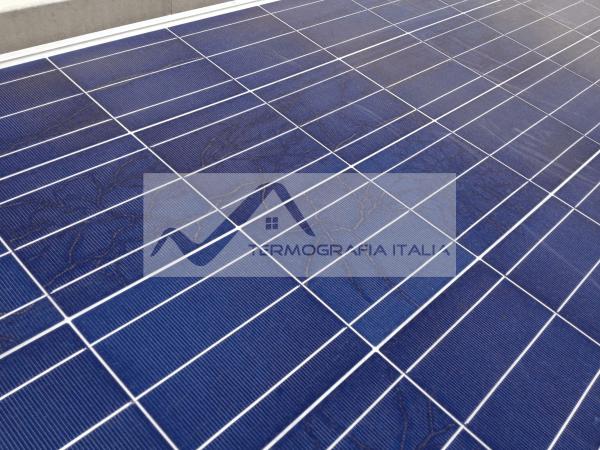 Termografia bava di lumaca su panelli fotovoltaici - Che cosa è