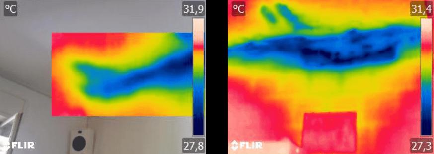 Termografia Calabria: Diagnosi infiltrazioni di acqua - Solaio appartamento 2