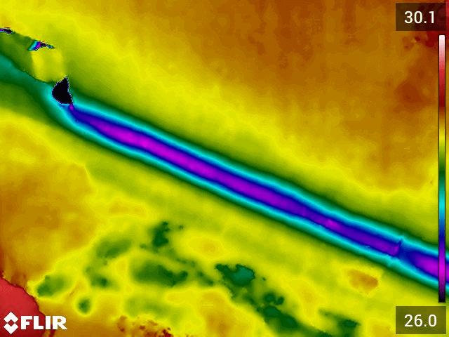 Termografia Calabria: Diagnosi infiltrazioni di acqua - mappatura impianto idrico immagine 2