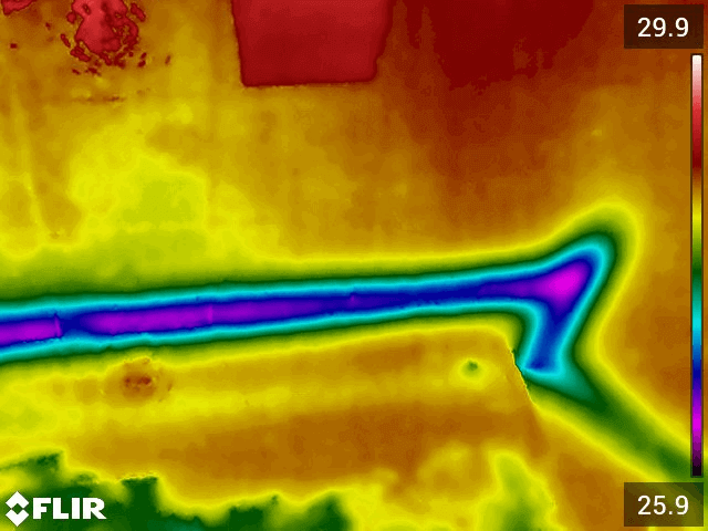 Termografia Calabria: Diagnosi infiltrazioni di acqua - mappatura impianto idrico immagine 3