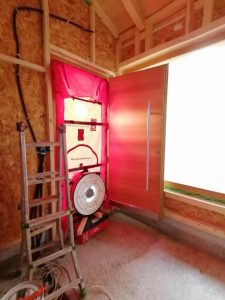 Spifferi dalle finestre - Blower door e test A-Wert