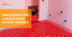 Termografia Sicilia: Analisi degli impianti radianti