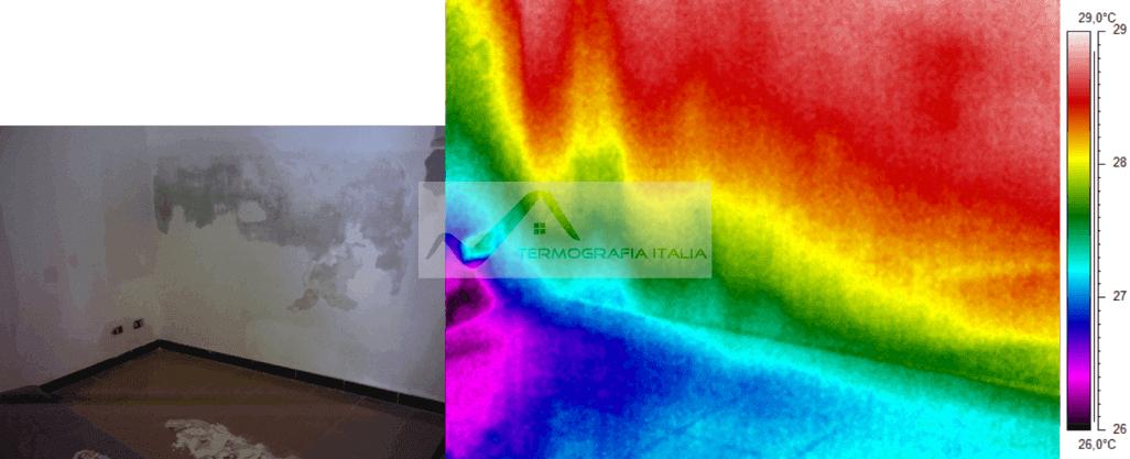 Umidità di risalita parete
